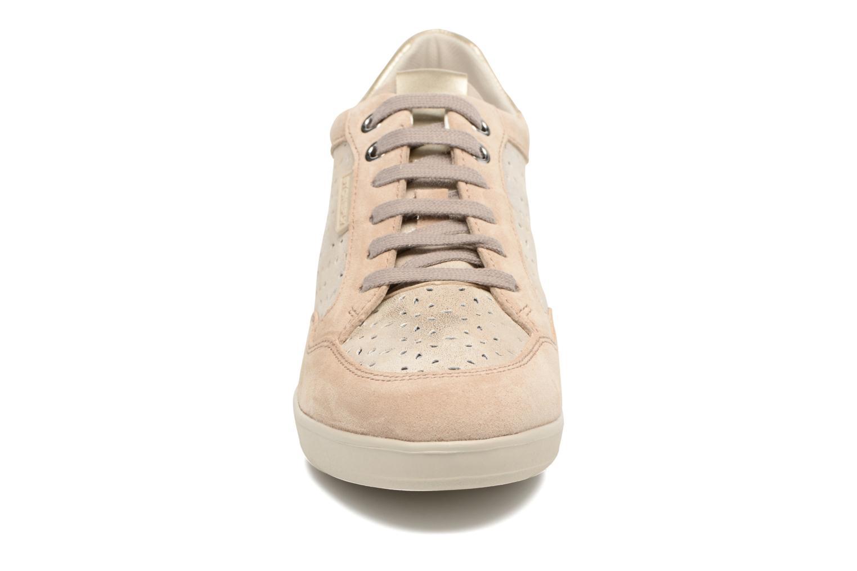 Baskets Stonefly Ebony 22 Beige vue portées chaussures