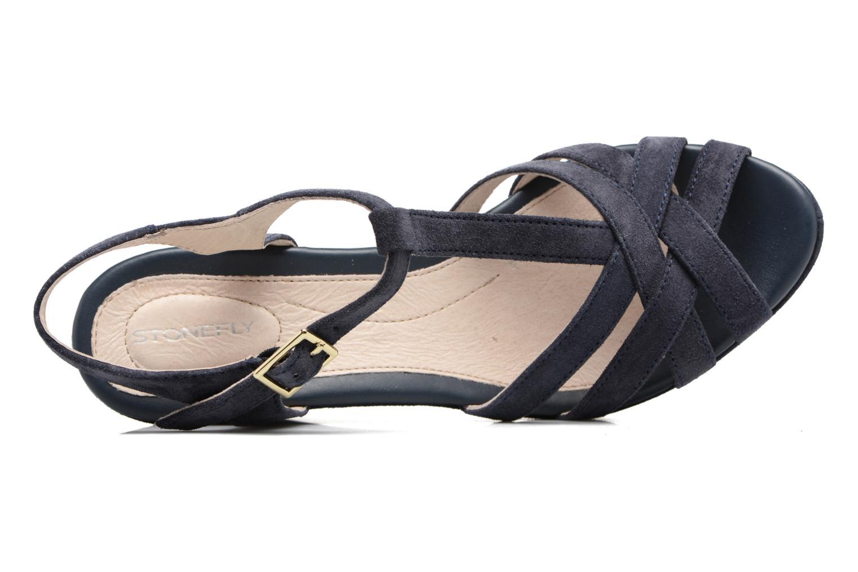 Sandales et nu-pieds Stonefly Marlene II Bleu vue gauche