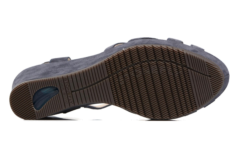 Sandales et nu-pieds Stonefly Marlene II Bleu vue haut