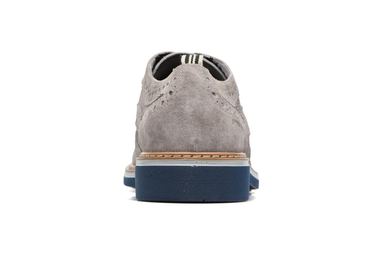 Zapatos con cordones Stonefly Alby 1 Gris vista lateral derecha
