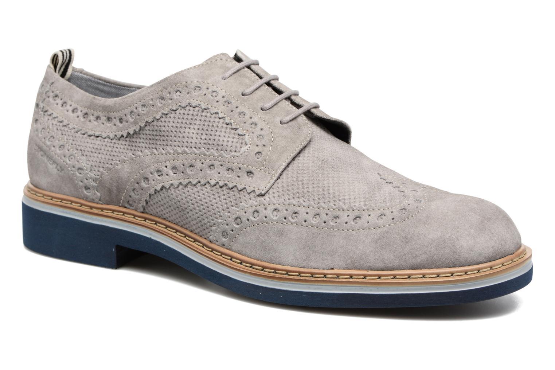 Zapatos con cordones Stonefly Alby 1 Gris vista de detalle / par