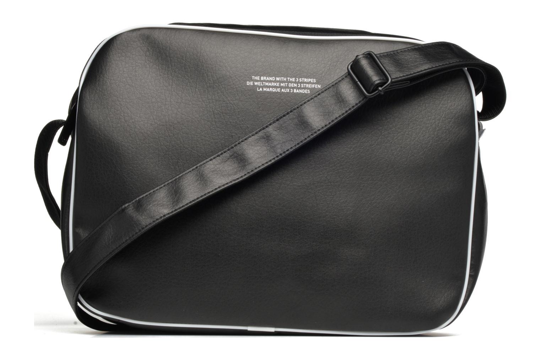 Herrentaschen Adidas Originals AIRLINER AC CL Besace schwarz ansicht von vorne