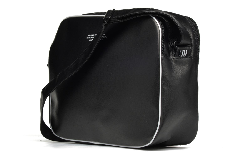 Herrentaschen Adidas Originals AIRLINER AC CL Besace schwarz ansicht von rechts