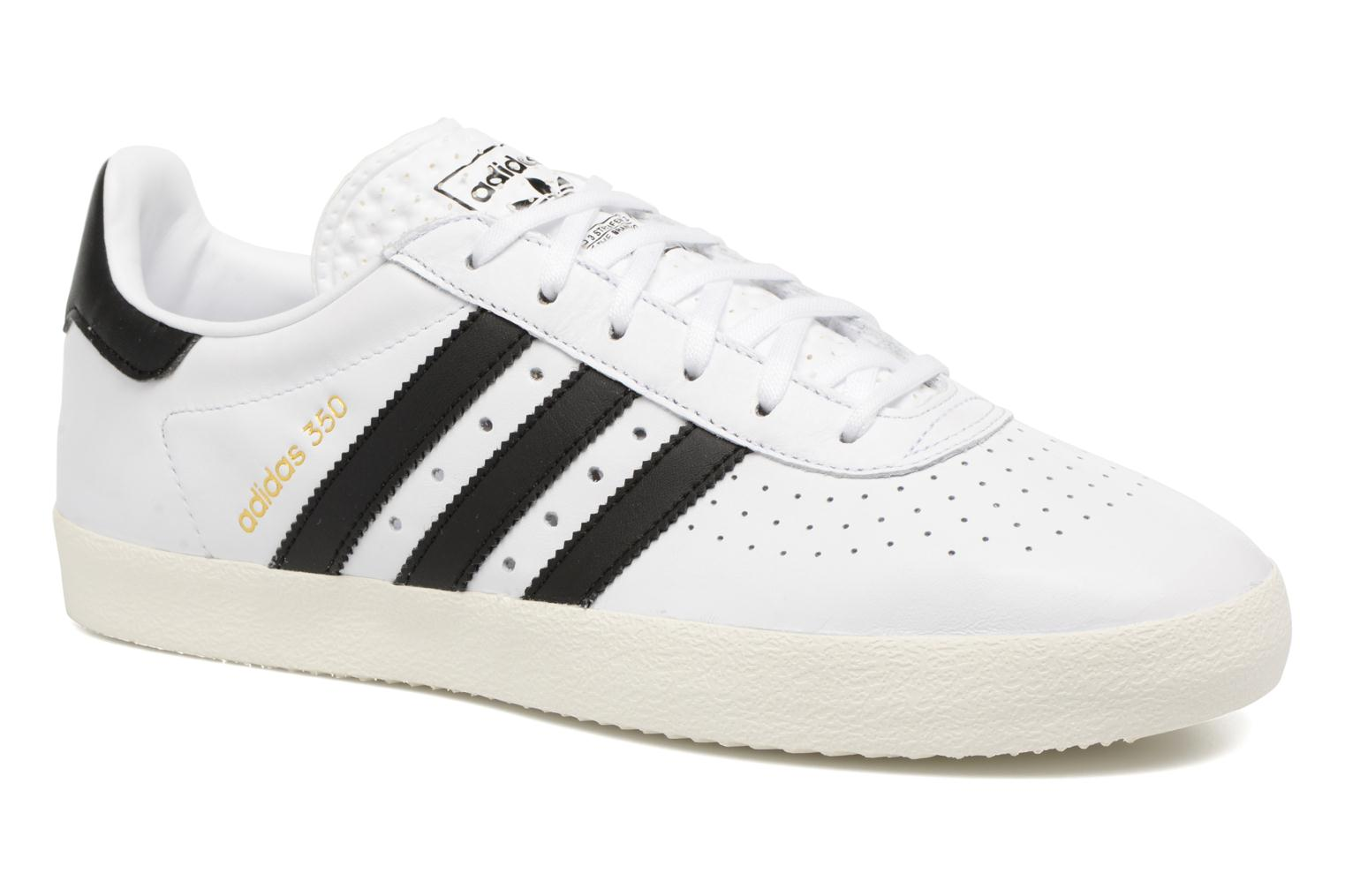Baskets Adidas Originals Adidas 350 Blanc vue détail/paire