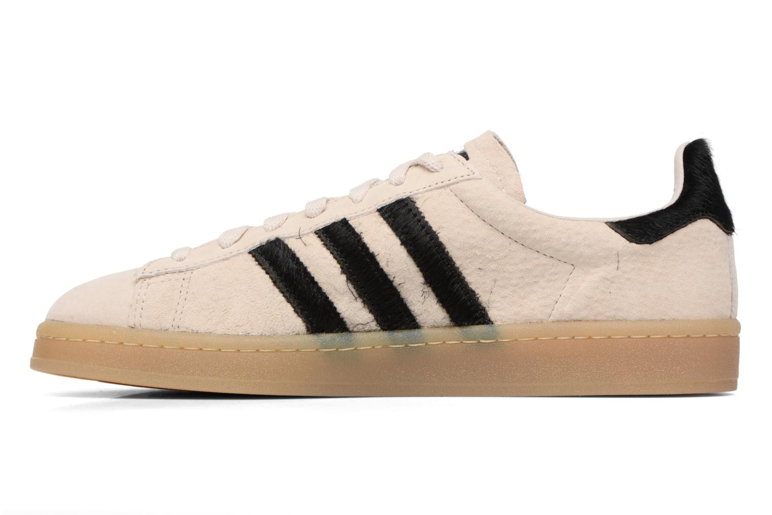 Baskets Adidas Originals Campus Noir vue face