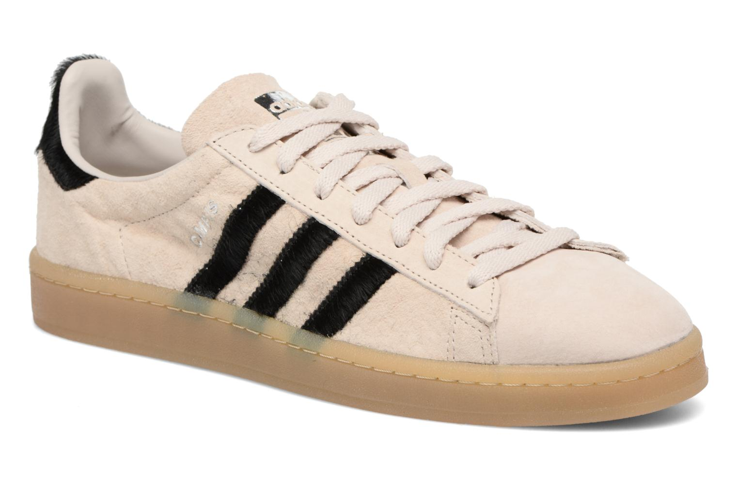 Baskets Adidas Originals Campus Noir vue détail/paire