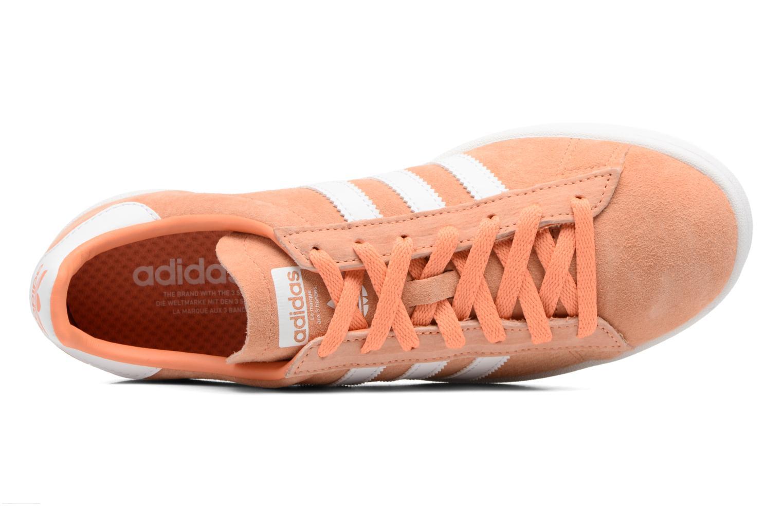 Baskets Adidas Originals Campus Orange vue gauche