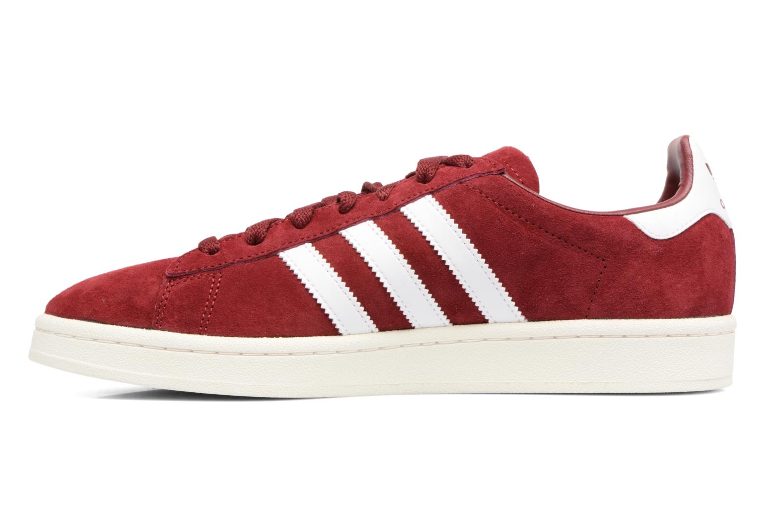 Baskets Adidas Originals Campus Rouge vue face
