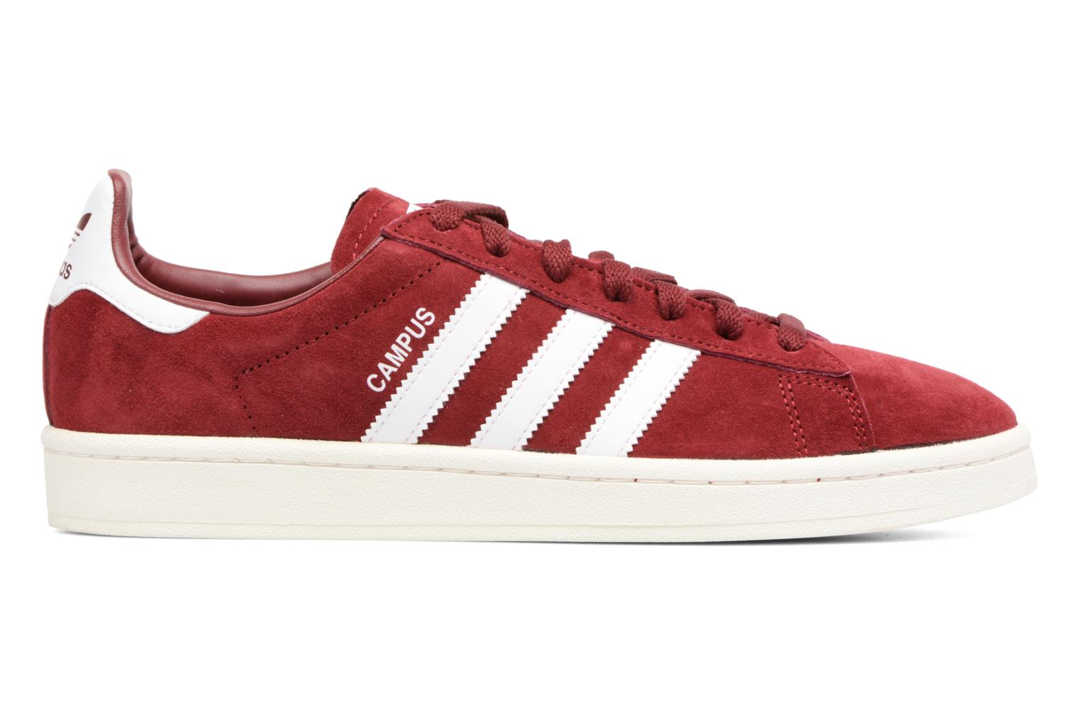 Baskets Adidas Originals Campus Rouge vue derrière