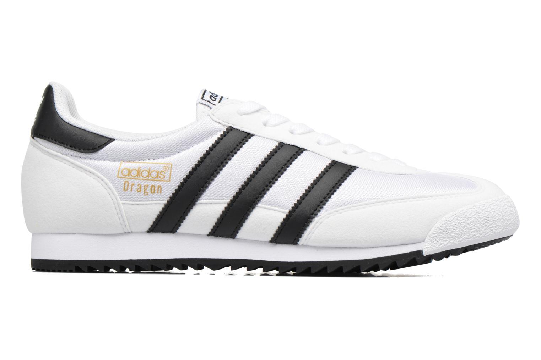 Sneakers Adidas Originals Dragon Og Wit achterkant
