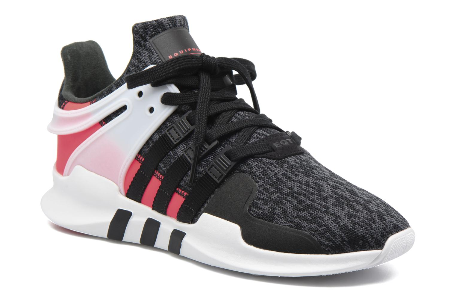 Baskets Adidas Originals Eqt Support Adv Noir vue détail/paire