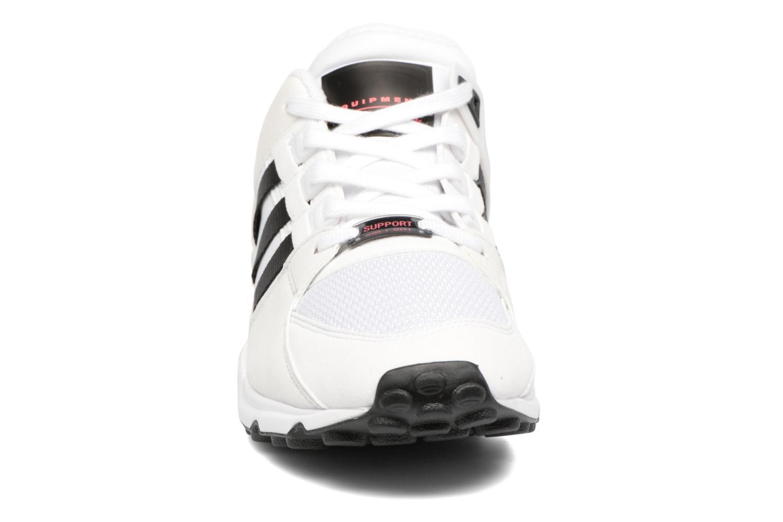 Baskets Adidas Originals Eqt Support Rf Blanc vue portées chaussures