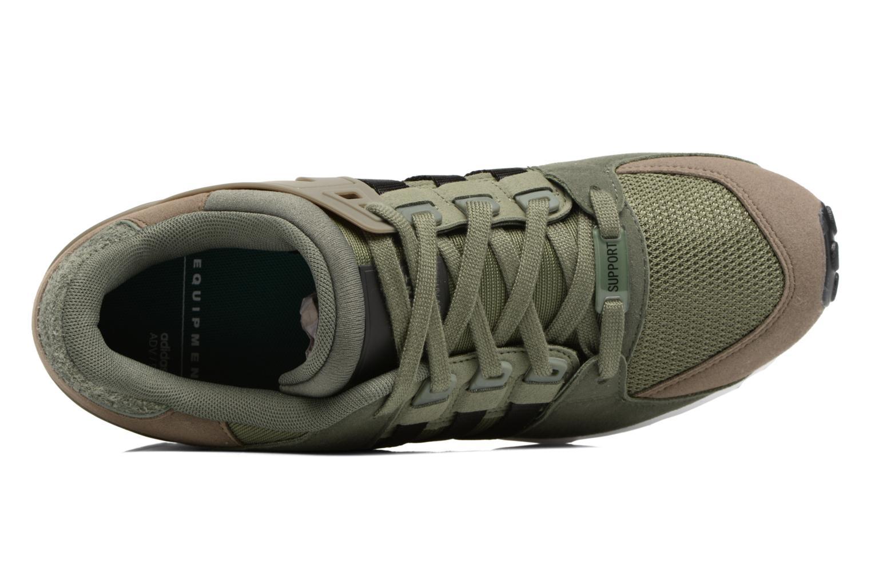 Baskets Adidas Originals Eqt Support Rf Vert vue gauche