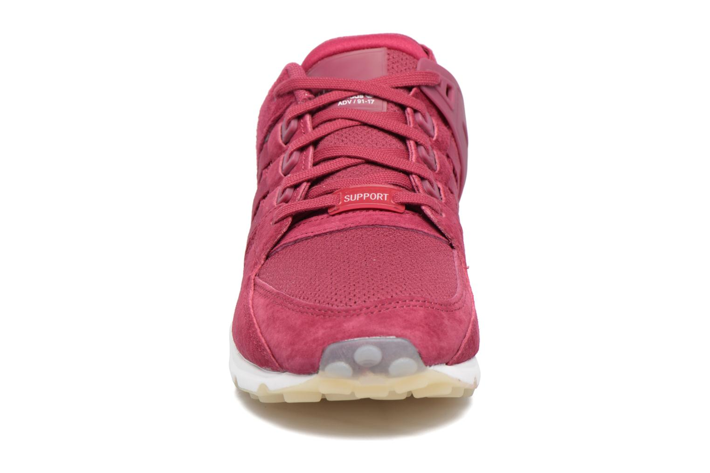 Baskets Adidas Originals Eqt Support Rf W Bordeaux vue portées chaussures