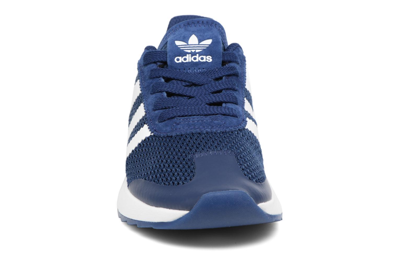 Baskets Adidas Originals Flb W Bleu vue portées chaussures