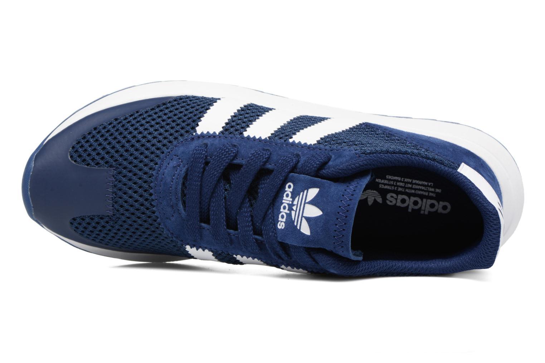 Deportivas Adidas Originals Flb W Azul vista lateral izquierda