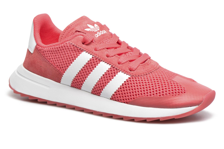 Adidas Originals Flb W (Rouge) - Baskets chez Sarenza (288635)