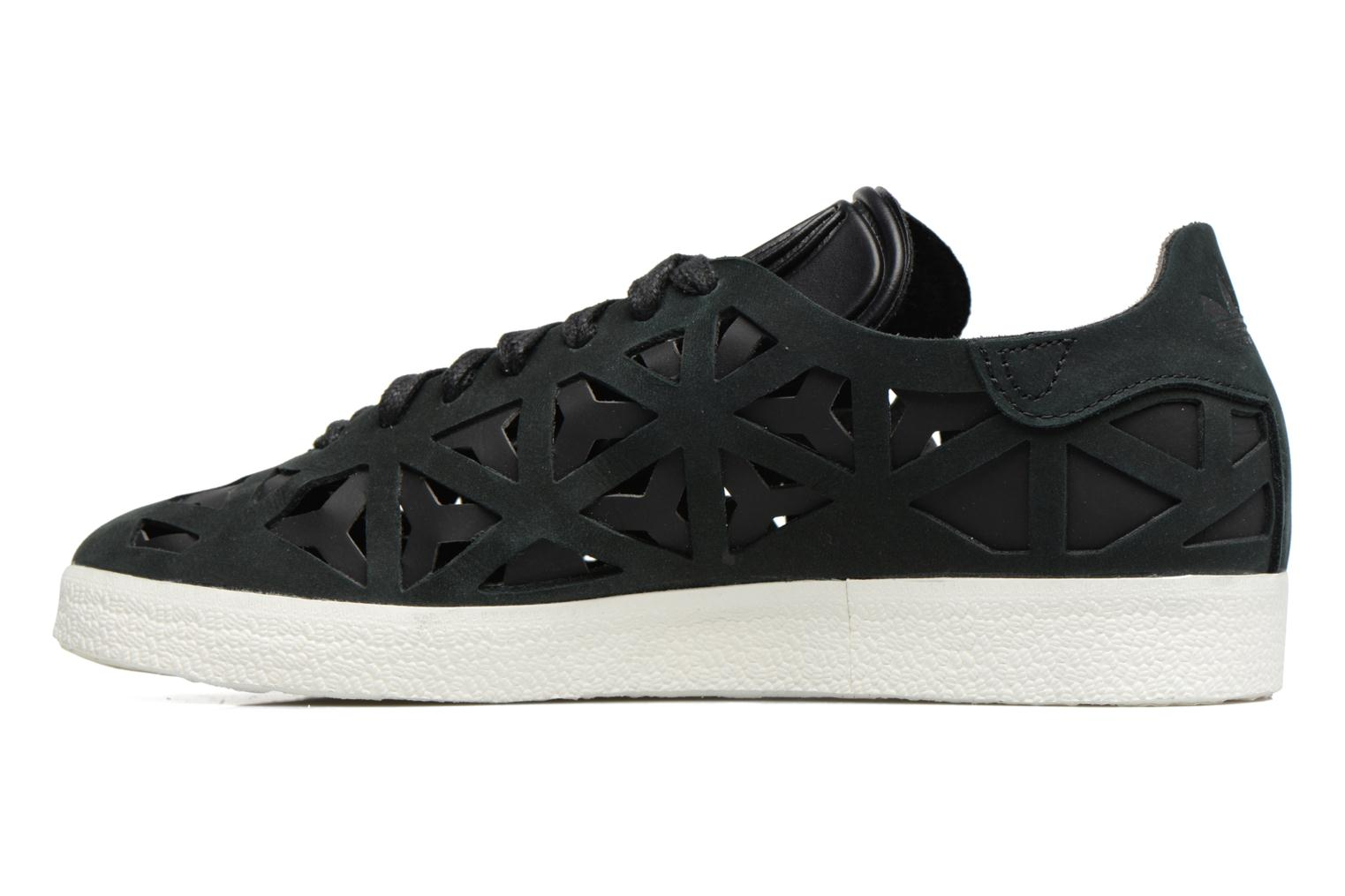 Baskets Adidas Originals Gazelle Cutout W Noir vue face
