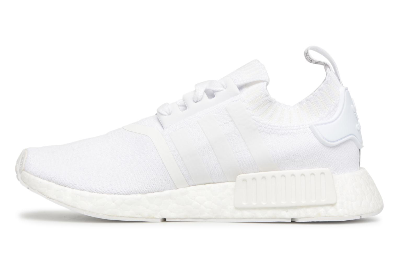 Sneaker Adidas Originals Nmd_R1 Pk W weiß ansicht von vorne