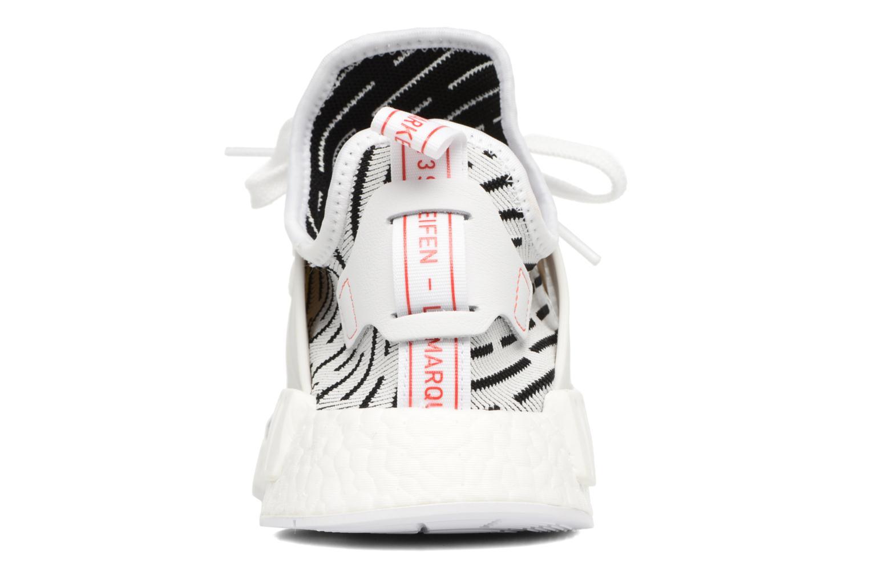 Baskets Adidas Originals Nmd_Xr1 Pk Blanc vue droite