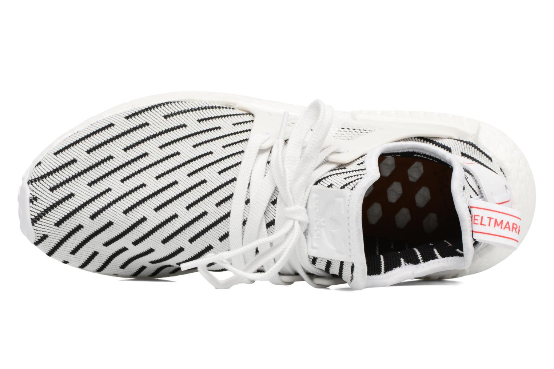 Baskets Adidas Originals Nmd_Xr1 Pk Blanc vue gauche