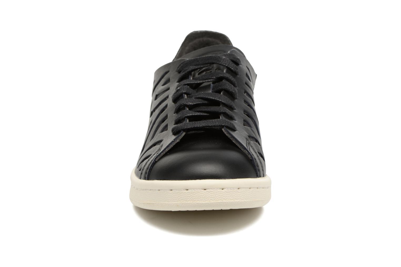 Baskets Adidas Originals Stan Smith Cutout W Noir vue portées chaussures