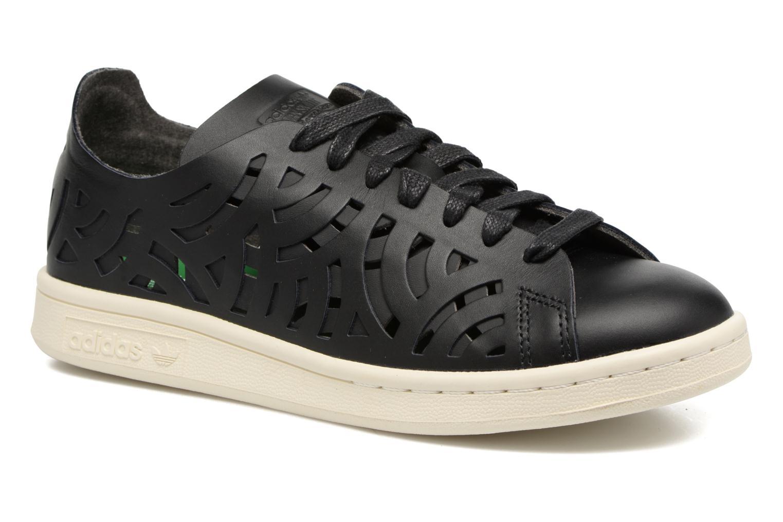 Baskets Adidas Originals Stan Smith Cutout W Noir vue détail/paire