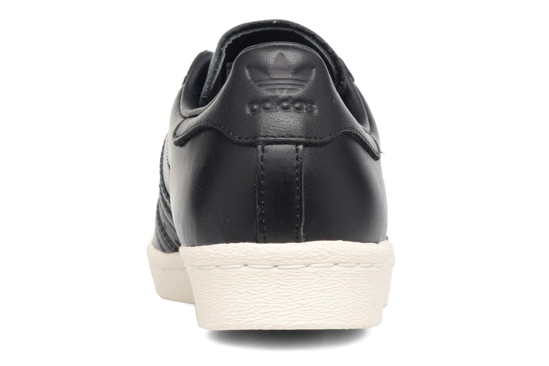 Baskets Adidas Originals Superstar 80S 3D Mt W Noir vue droite