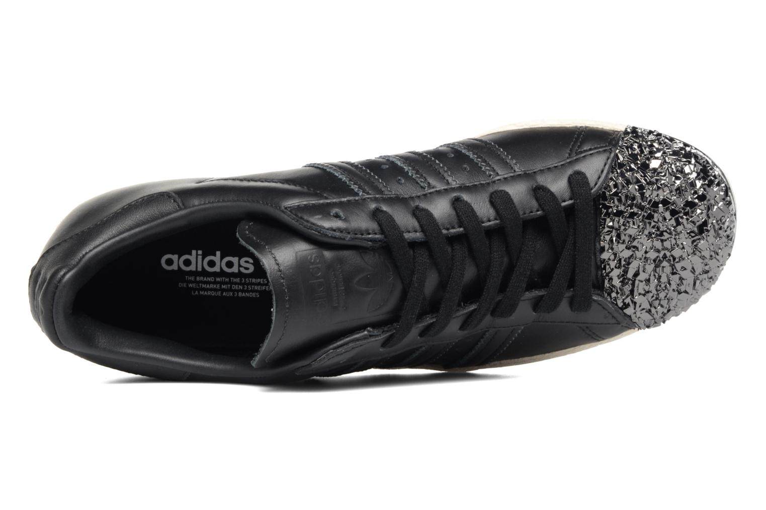 Baskets Adidas Originals Superstar 80S 3D Mt W Noir vue gauche