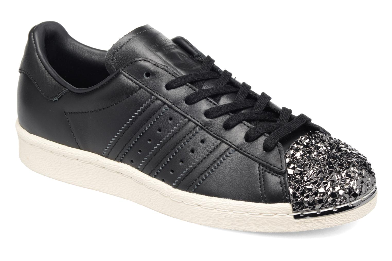 Baskets Adidas Originals Superstar 80S 3D Mt W Noir vue détail/paire