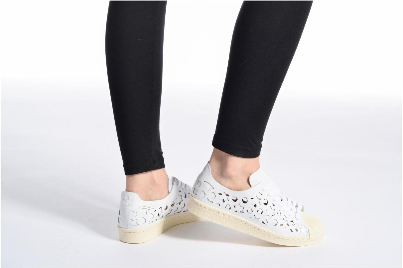 Zapatos especiales para hombres y mujeres Adidas Originals Superstar 80S Cut Out W (Blanco) - Deportivas en Más cómodo