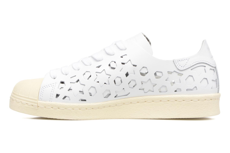 Deportivas Adidas Originals Superstar 80S Cut Out W Blanco vista de frente