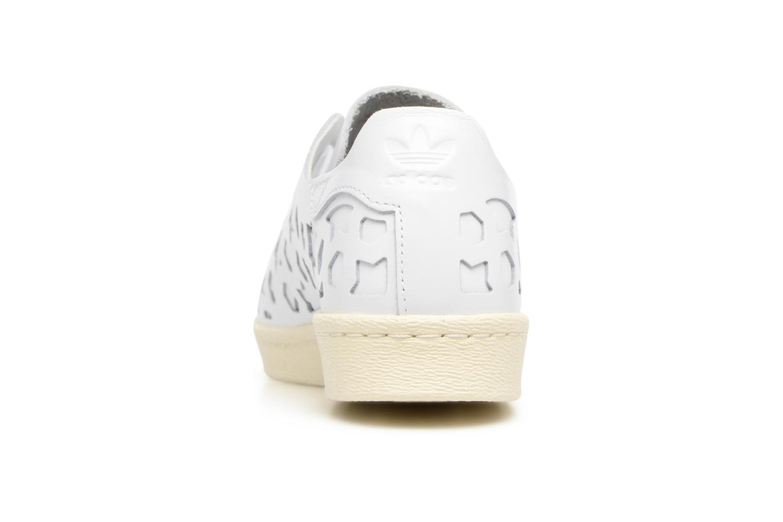 Baskets Adidas Originals Superstar 80S Cut Out W Blanc vue droite