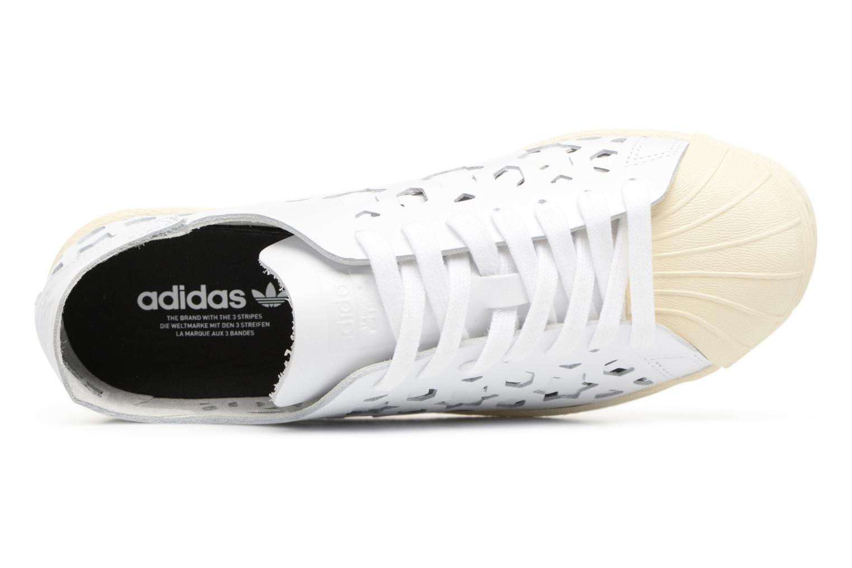 Baskets Adidas Originals Superstar 80S Cut Out W Blanc vue gauche