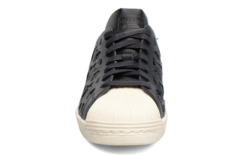 Baskets Adidas Originals Superstar 80S Cut Out W Noir vue portées chaussures