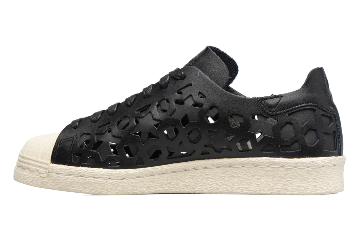 Deportivas Adidas Originals Superstar 80S Cut Out W Negro vista de frente