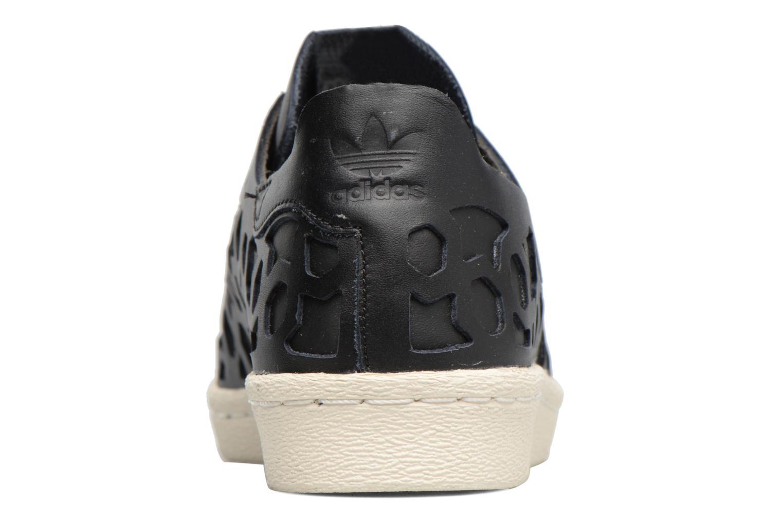 Baskets Adidas Originals Superstar 80S Cut Out W Noir vue droite