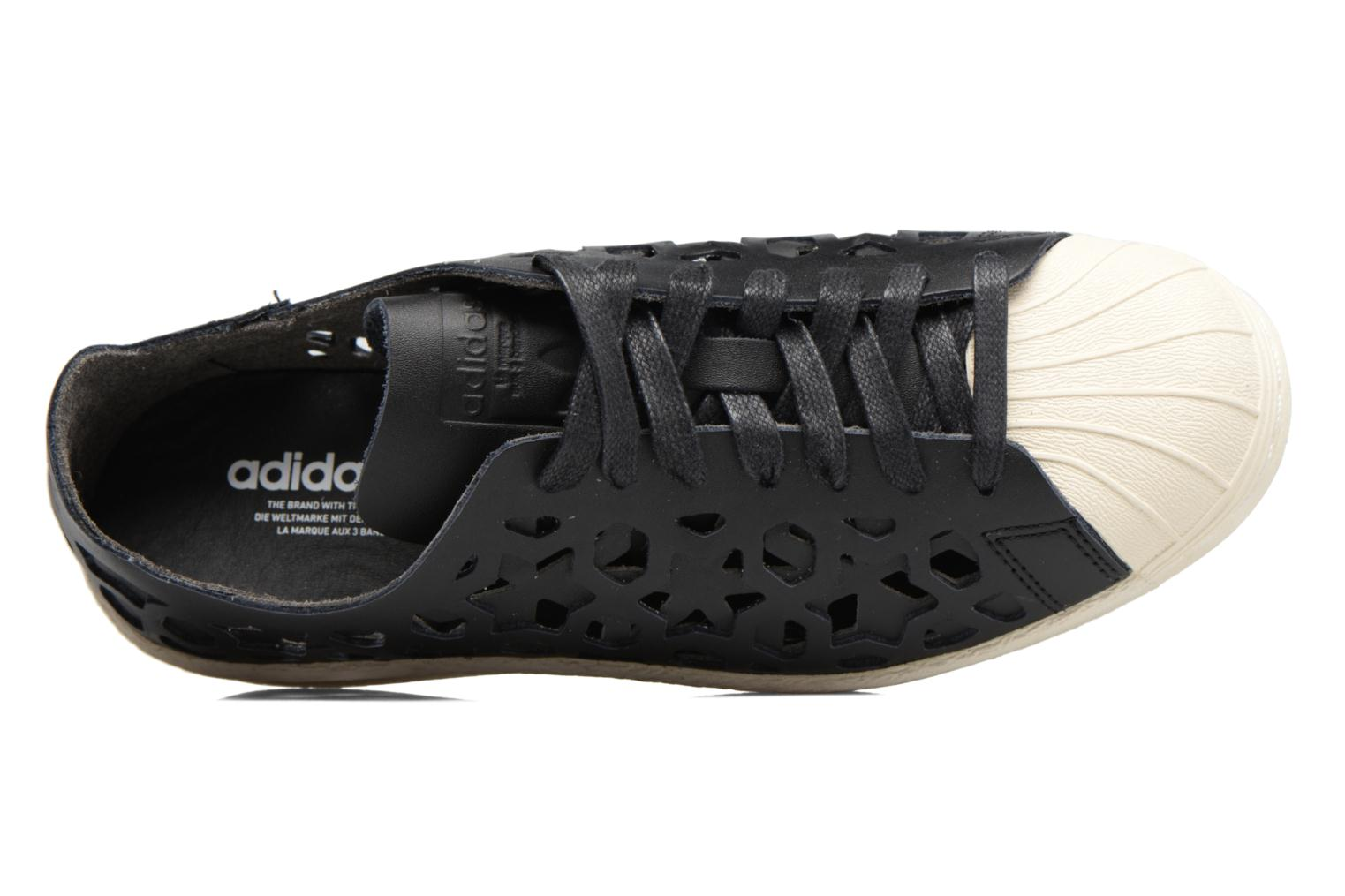 Deportivas Adidas Originals Superstar 80S Cut Out W Negro vista lateral izquierda