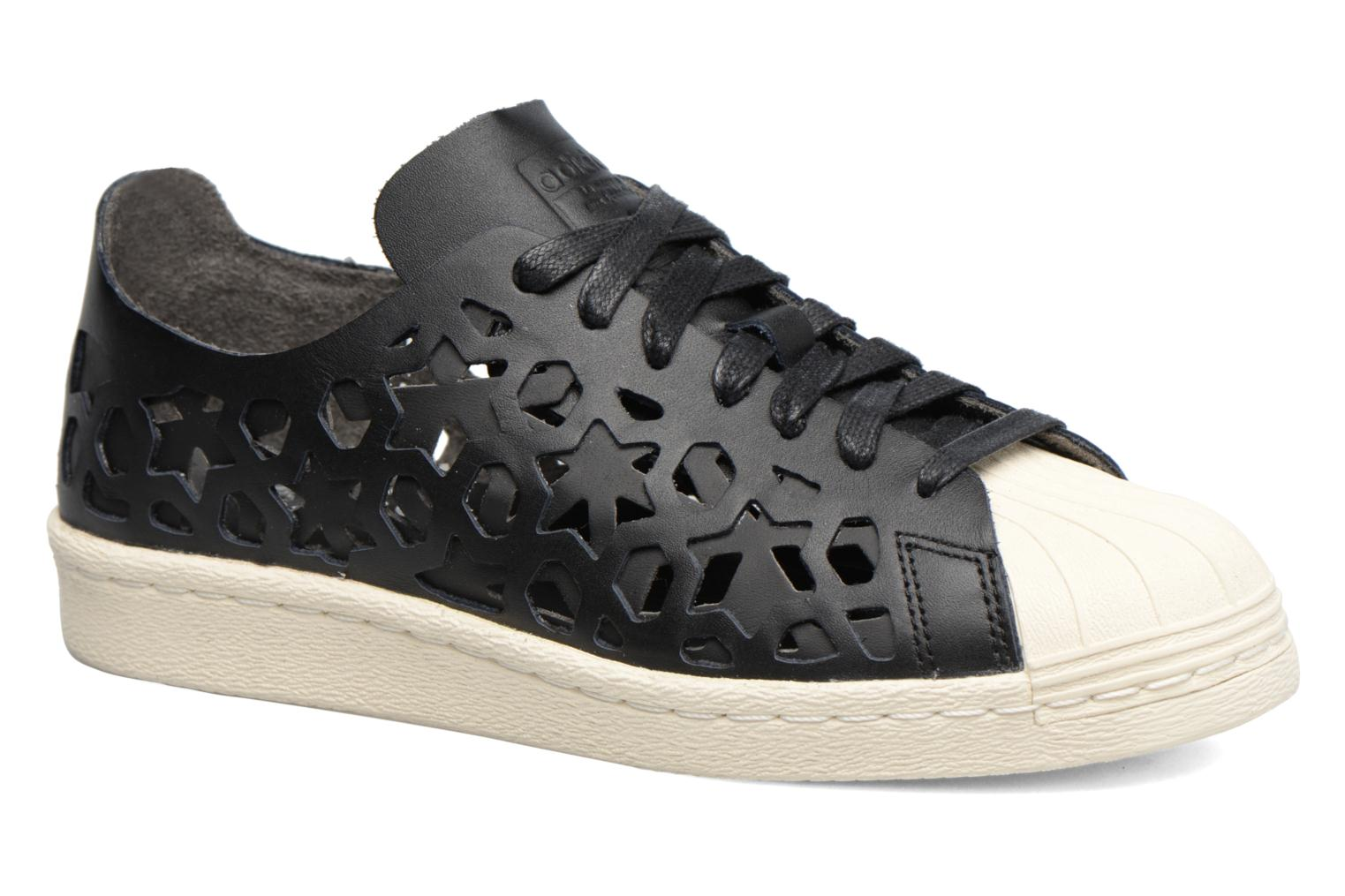 Deportivas Adidas Originals Superstar 80S Cut Out W Negro vista de detalle / par