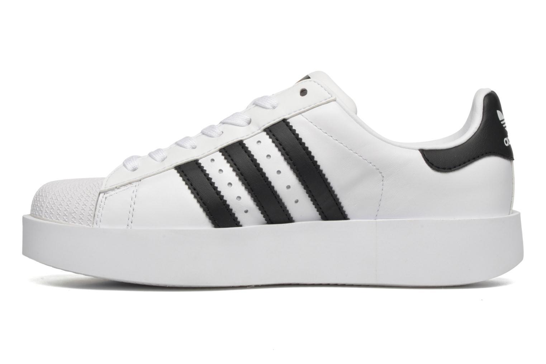 Baskets Adidas Originals Superstar Bold W Blanc vue face