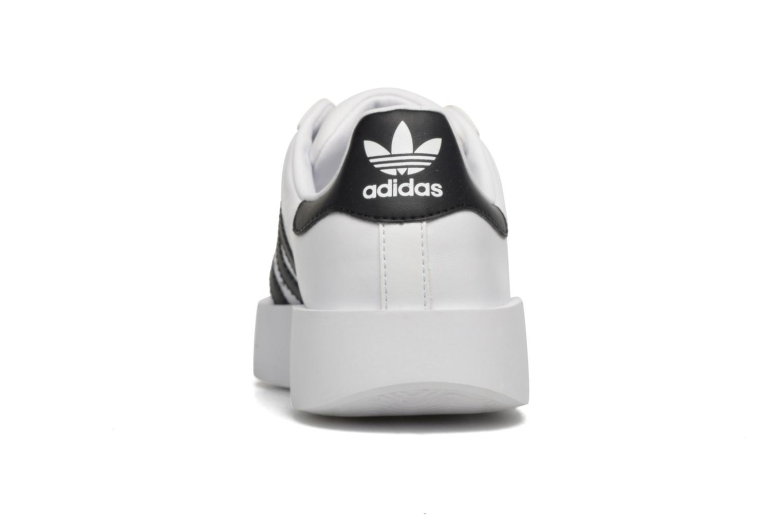 Baskets Adidas Originals Superstar Bold W Blanc vue droite