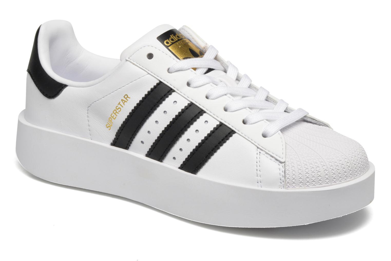 Baskets Adidas Originals Superstar Bold W Blanc vue détail/paire