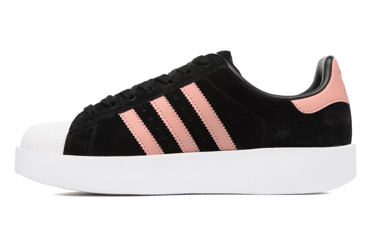 Baskets Adidas Originals Superstar Bold W Noir vue face