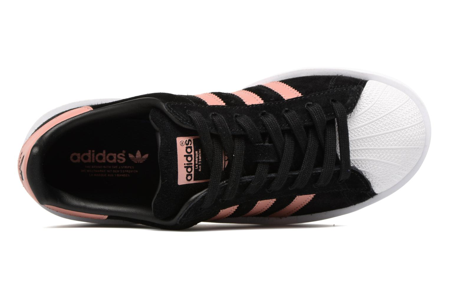 Baskets Adidas Originals Superstar Bold W Noir vue gauche