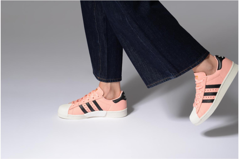 Deportivas Adidas Originals Superstar Boost W Rosa vista de abajo