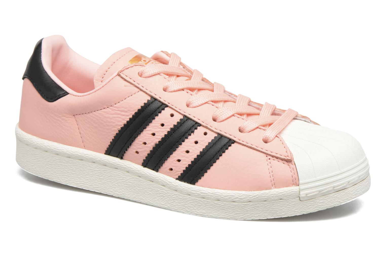 Deportivas Adidas Originals Superstar Boost W Rosa vista de detalle / par