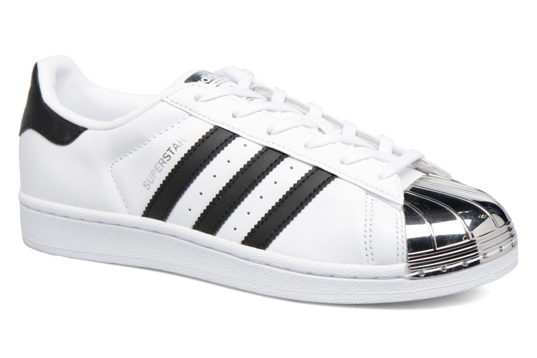 Baskets Adidas Originals Superstar Metal Toe W Blanc vue détail/paire
