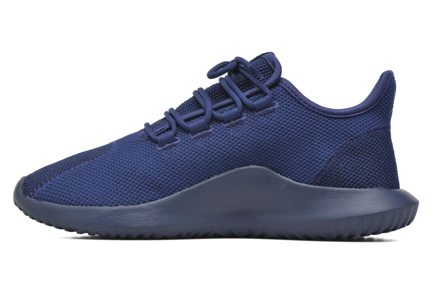 Baskets Adidas Originals Tubular Shadow Knit Bleu vue face
