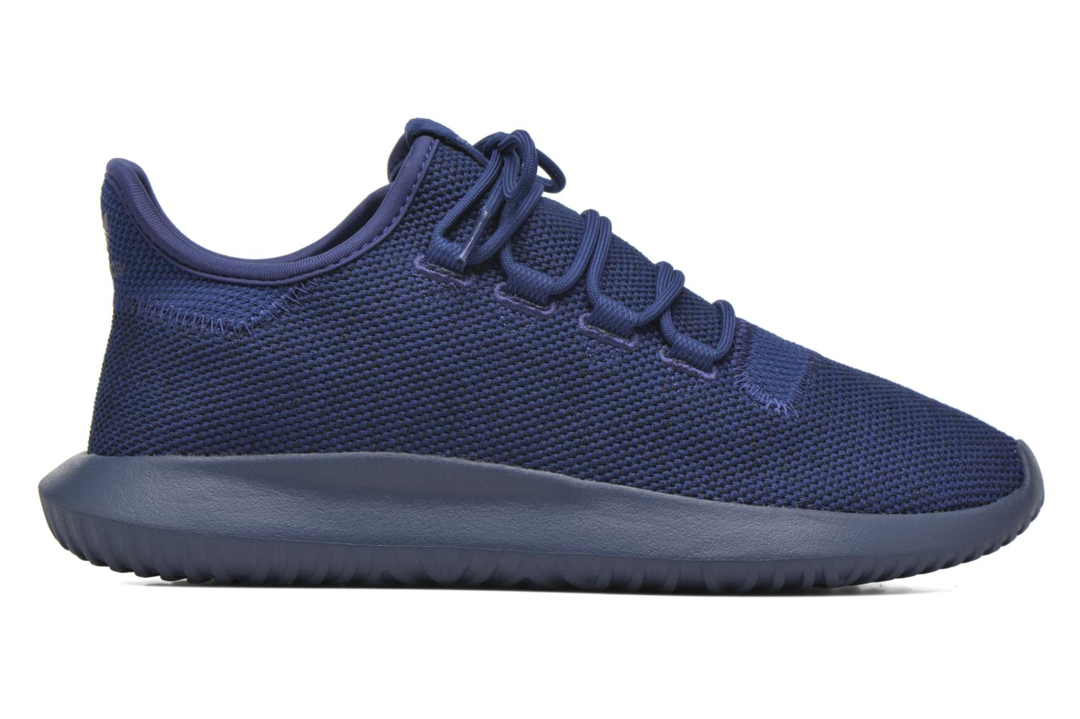 Baskets Adidas Originals Tubular Shadow Knit Bleu vue derrière
