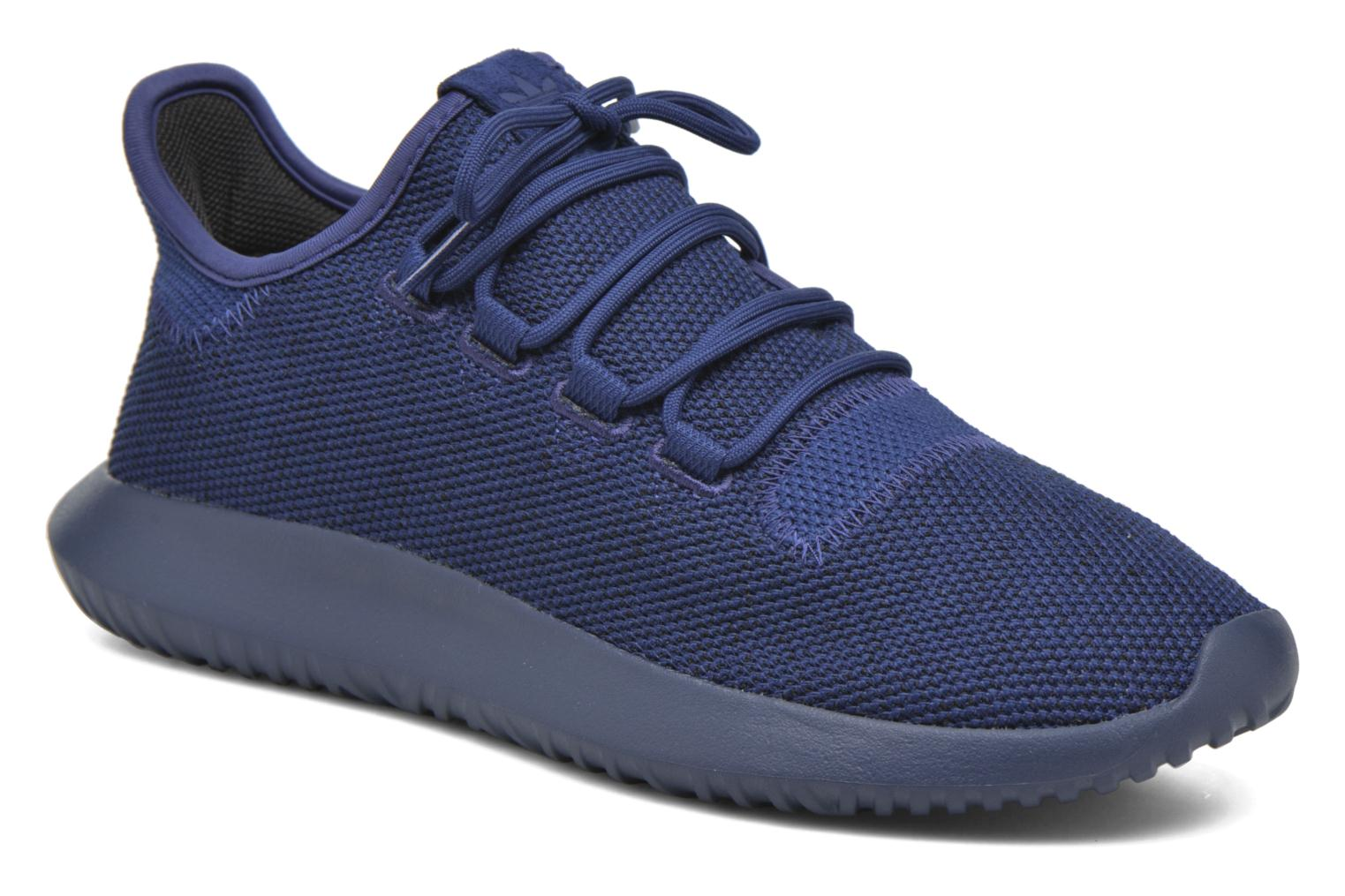 Baskets Adidas Originals Tubular Shadow Knit Bleu vue détail/paire